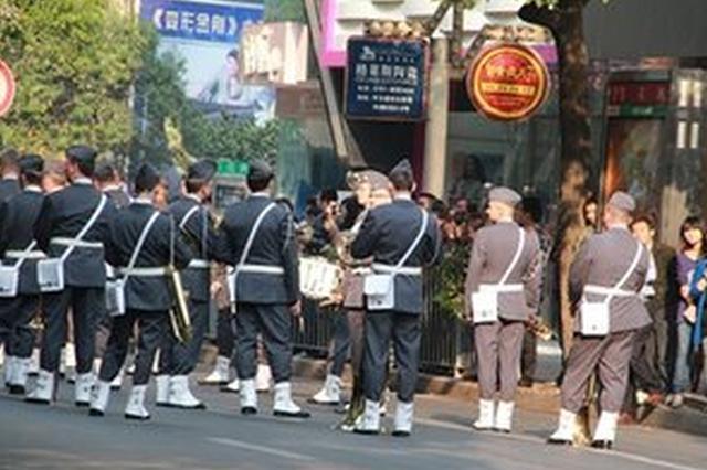 国际军乐节当日上午中山路禁止车辆通行