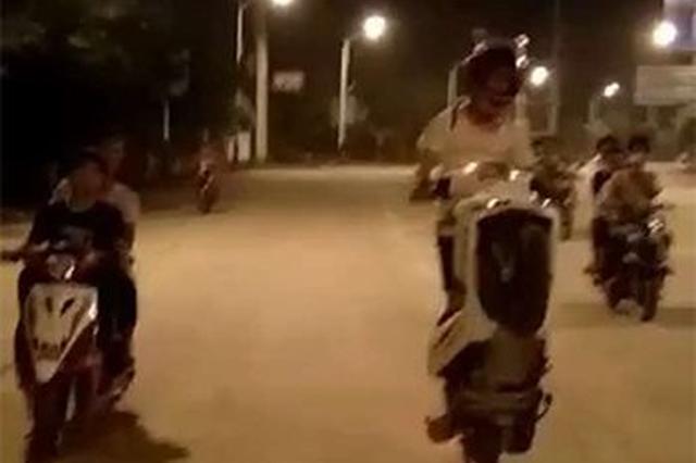 飞车党录飙车视频还指名要警方观看 22人被抓