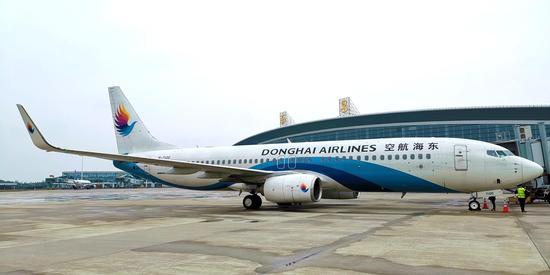 南昌机场首次开通直飞孔孟之乡——济宁航班