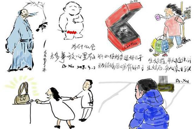 他从医12年用手机绘漫画 网友:被医生耽误的画家