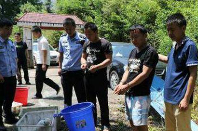江西森林公安成功捣毁一个非法猎捕野生动物窝点
