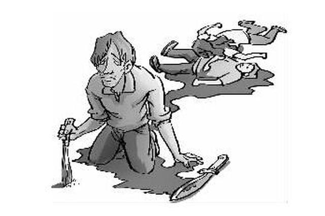 男子杀害一对母女后欲服毒 警察90分钟将其抓获