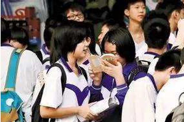 南昌中招均衡生指标5943个 分到114所城区中学
