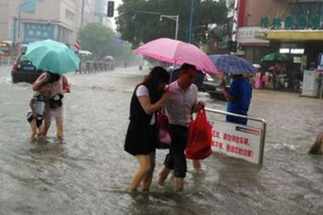 强降雨致江西15.53万人受灾 全省进入后汛期管理