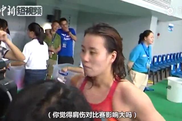 赣州举行全国游泳锦标赛 傅园慧挺进亚运宁泽涛无缘