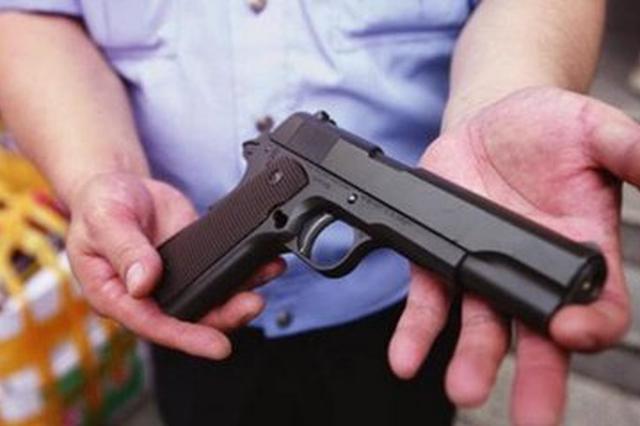 男子购仿真枪重审后无期改判七年半 再上诉求无罪