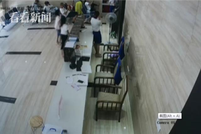 南昌一医院发生被盗窃 被偷的是信息登记本
