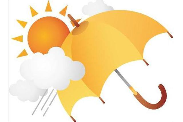 """今明两天降雨降温排队""""签到"""" 明天最高温降至32℃"""