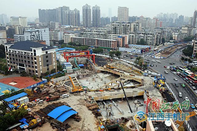 南昌地铁2号线后通段全封顶 明年全线贯通