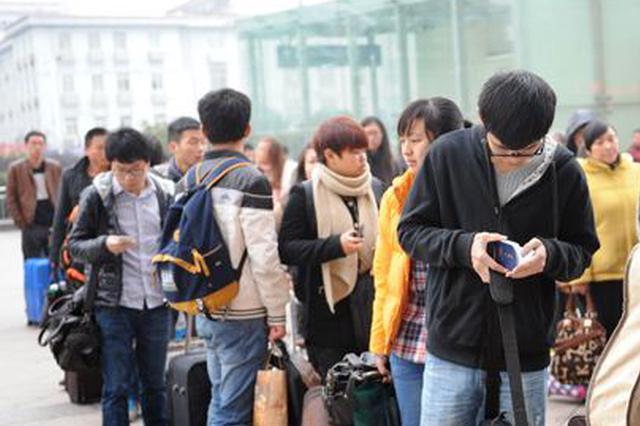 南铁迎来节前学生客流高峰 日发送学生旅客6万人次