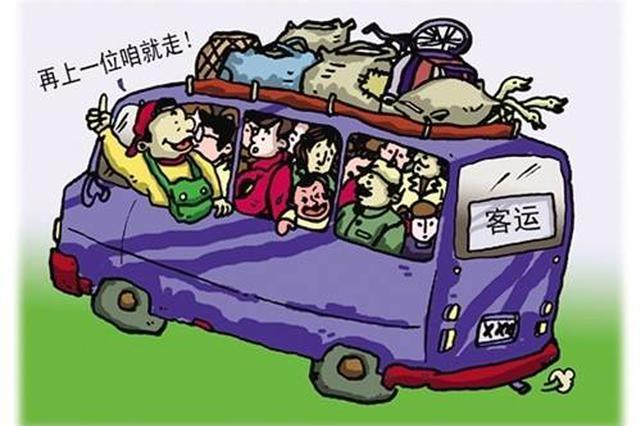 查客车超员江西交警有新招 用无人机高空取证