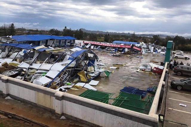 江西多地遭遇雷雨大风、冰雹等天气 贵溪2死19伤