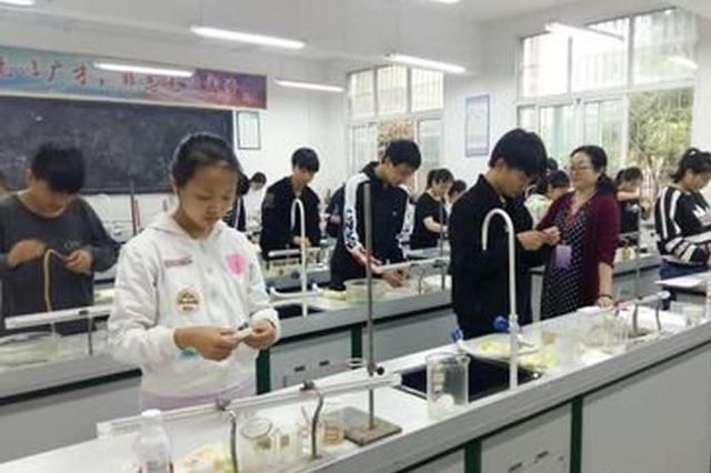 南昌中考物理化学实验操作考查5月举行 共10分