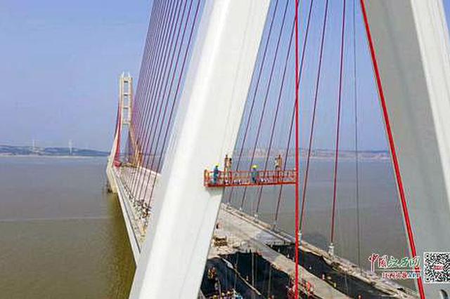 交通工程建设提速 都九高速鄱阳湖二桥拟6月完工
