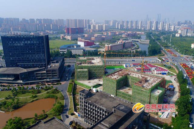 南昌慧?#21364;?#24847;产业园三期建设预计明年8月完工