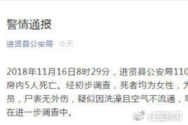 进贤幼儿园5名实习老师煤气中毒死亡 幼儿园法人获刑