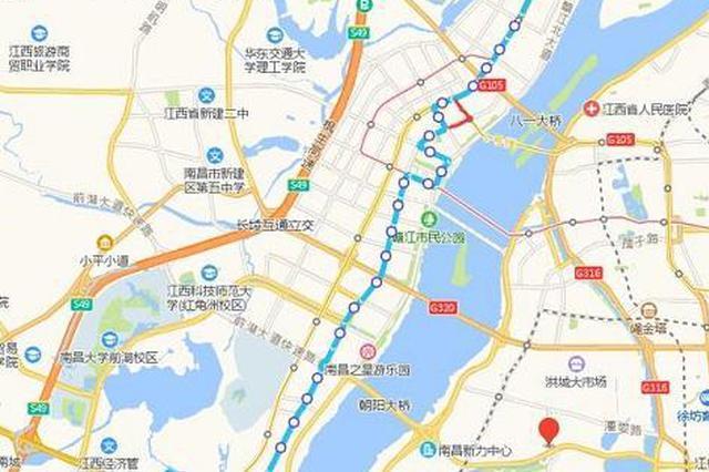 7月18日起 南昌公交新辟及优化多条线路