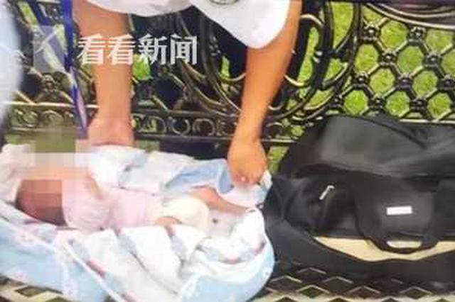 小区公共座椅上惊现弃婴 民警2小时破案真相扎心