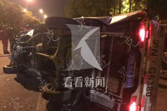 轿车司机醉酒驾驶 小货车驾驶员被撞飞当场死亡