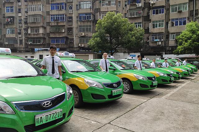 南昌首批新能源纯电动出租车投运 起步价仍为8元
