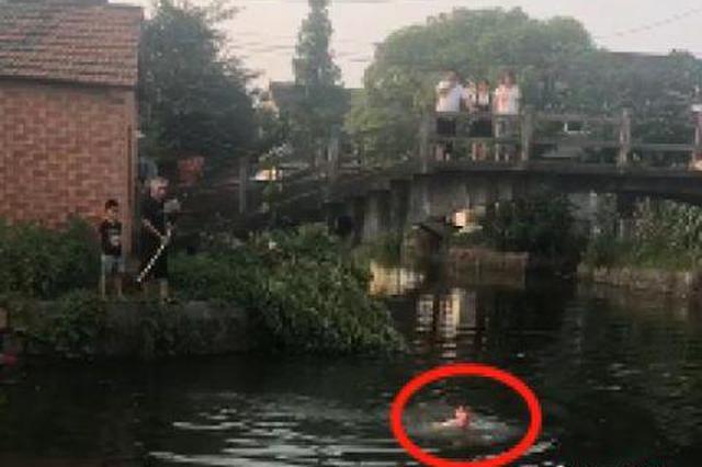 退伍老兵潜水三次勇救落水女孩 用最后一丝力气游上岸