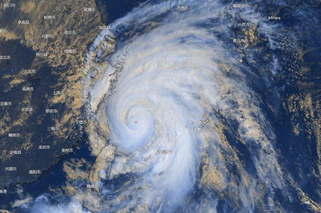 """受台风""""利奇马""""外围影响 江西东北部阵风可达6~7级"""
