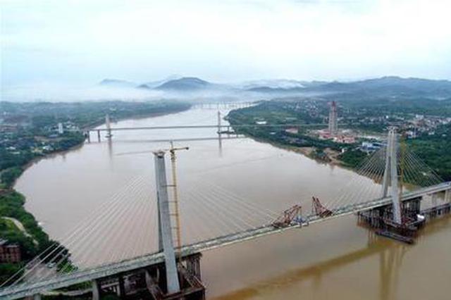 江西省委书记刘奇:昌赣高铁将于今年年底开通