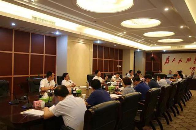 万载县撤县设区工作正式启动 市长王水平讲话