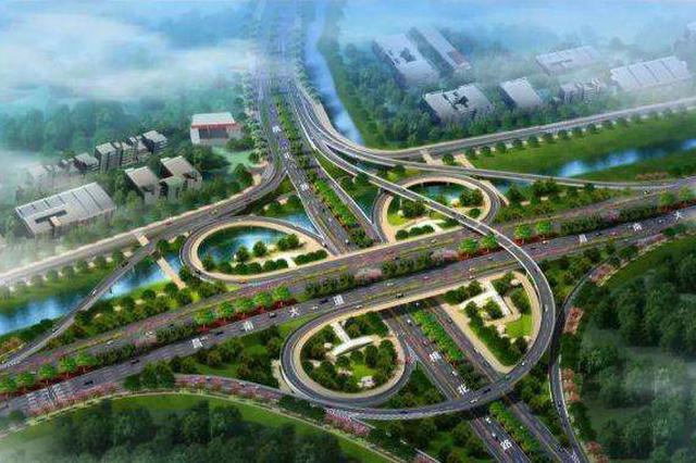 昌南大道快速路主线月底通车 近三分之一匝道同时开通