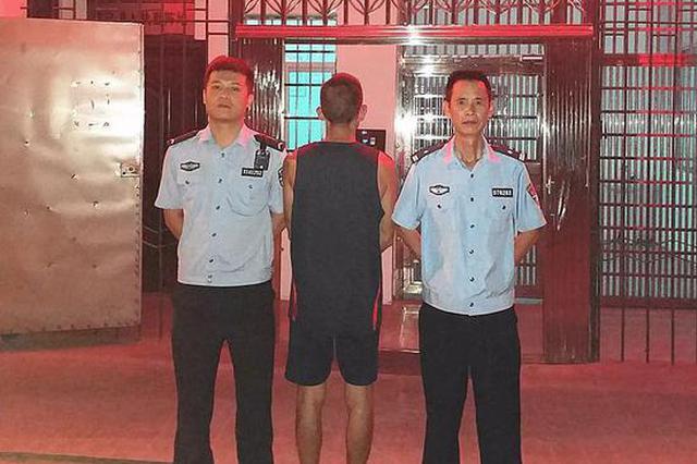 微信里公然辱警 贛州兩男子假期在拘留所里過