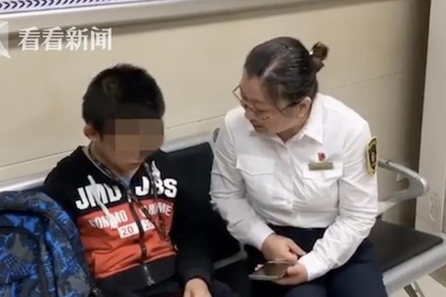 江西:奶奶患癌去上海手术 孙子怕失去她独自悄悄跟随