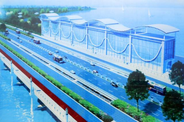 赣江新区金水大桥计划年底竣工 总投资约3.2亿元