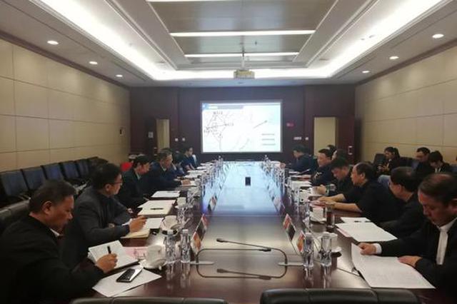 对接咸宜吉铁路项目 王水平率队赴武汉拜访中铁四院