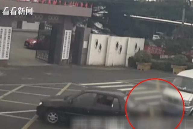 一脚油门倒车酿事故 小伙醉驾:想试试开车的感觉