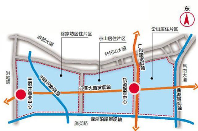 规划公示!南昌象湖东岸要建轨道换乘中心