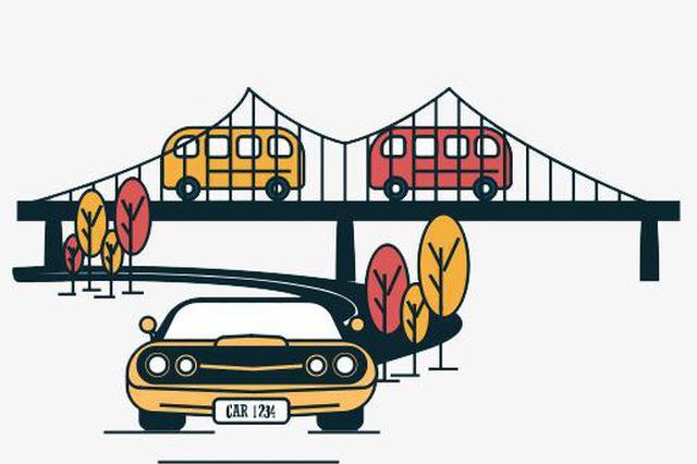 南昌双港大街上跨昌北站立交桥将要改造