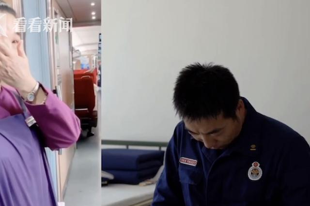 母亲高铁上被战友偶遇 儿子看视频哽咽:亏欠太多