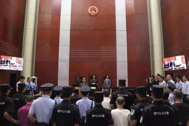 """最高十年…赣州""""天狮""""10人涉恶被判刑"""
