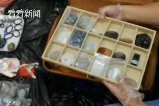 南昌:高铁上30万元玉器被盗 小偷称箱子好看就拿了
