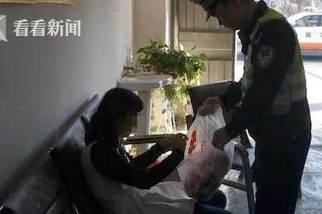 赣州:迷路女子骑电动车上高速 中途没电弃车走回家