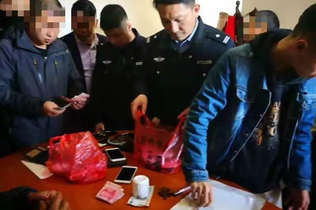 这件事千万别干了!赣州警方刑拘一房东 现场抓走22人