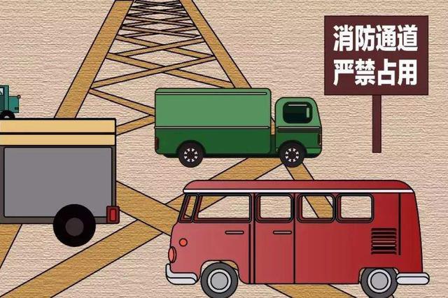 南昌发布通知 明确禁止占用、堵塞消防车通道