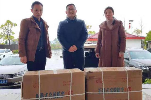 点赞!鹰潭一企业献爱心 捐赠4000个N95口罩