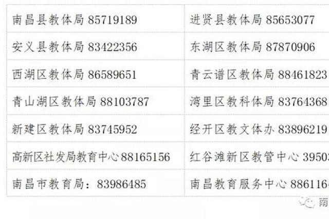 南昌市教育局发布公告 校外培训机构务必全面停业