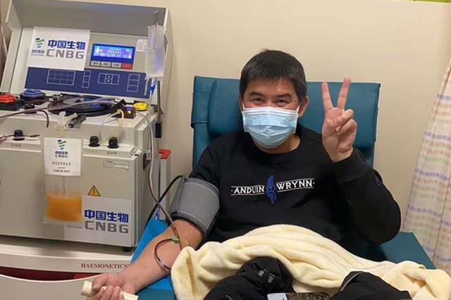 江西省新冠肺炎康复者捐献血浆第一人——董心江