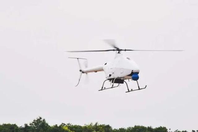 我国首架高原型无人直升机在上饶鄱阳成功首飞