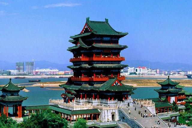 滕王阁南扩项目获得批复 将建设赣江风光带