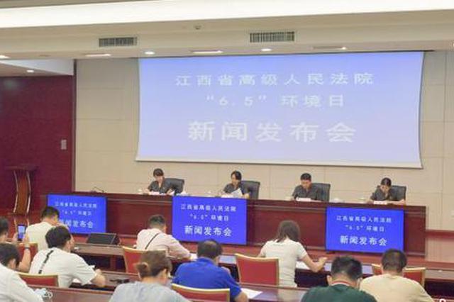 江西法院3年审理6204件涉环境资源案 公布十大案例