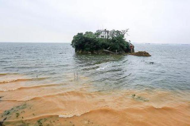 长江九江段超警戒水位 鄱阳湖第1号洪水形成