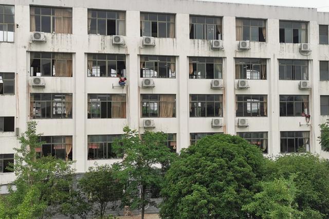 南丰投入200万为高考考场装空调 让学生清凉应考